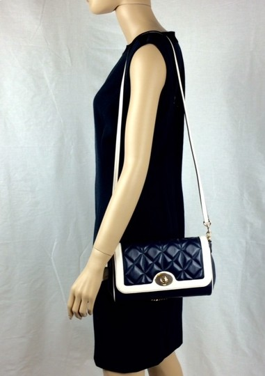 Coach Quilted Leather Small F37723 Flapfront Shoulder Bag Image 7