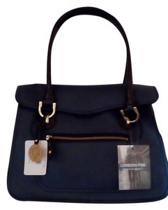 London Fog Tote in Midnight