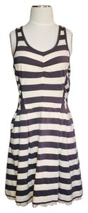 Marc by Marc Jacobs short dress Blue and Cream Striped on Tradesy