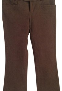 Banana Republic Trouser Pants Brown/dark brown weave