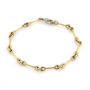 Cartier Cartier 18k Yellow White Gold Wrench Design Chain Link Bracelet