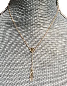 Jennifer Zeuner Jennifer Zeuner 14k yellow gold diamond lariat necklace