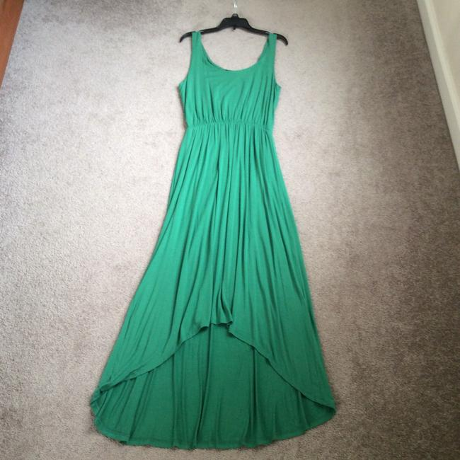 Kelly green Maxi Dress by FELICITY & COCO Image 1
