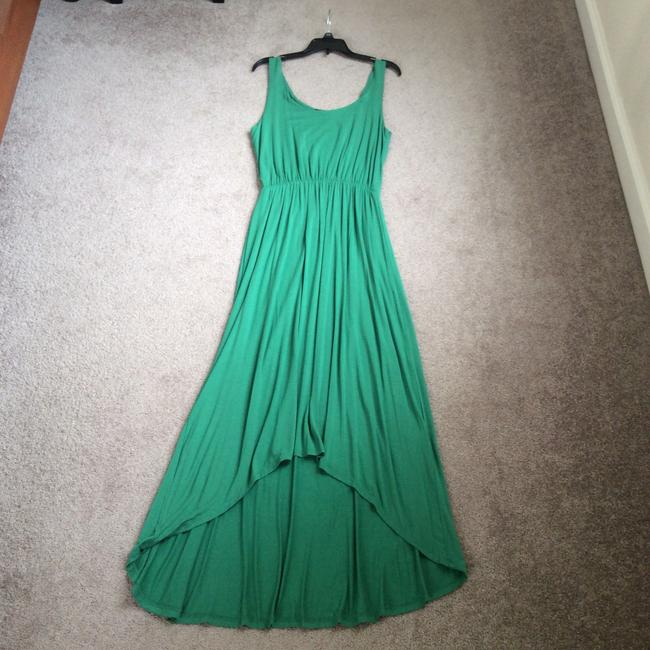 Kelly green Maxi Dress by FELICITY & COCO Image 3