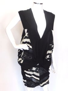 LIMI FEU short dress Black,White Tunic Japan on Tradesy