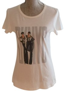 DKNY Tops S C S T Shirt White