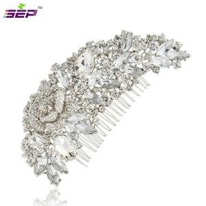 9.2.5 Cz Crystal Rhinestone Diamond Hair Clip Hairpin Hair Comb Jewelry Bridal Prom Huge Bling Hair Clip Flower Vine Leaf