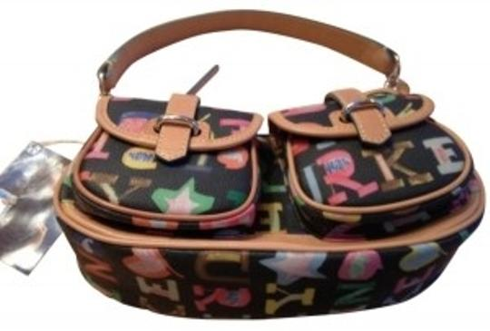 Preload https://item4.tradesy.com/images/dooney-and-bourke-medium-banana-black-with-multi-color-logos-vinyl-and-leather-hobo-bag-18243-0-0.jpg?width=440&height=440