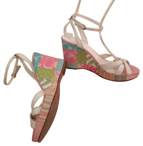 Coach Various, Pink Wedges