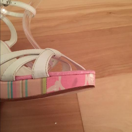 Coach Various, Pink Wedges Image 3