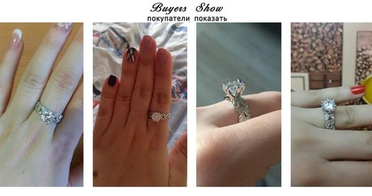 9.2.5 2.5ct Single Solitaire Diamond Cz Crystal Vintage Proposal Sterling Silver 925 Logo All 5 Engagement Ring Image 4