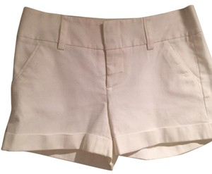 Alice + Olivia Mini/Short Shorts White