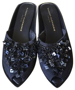 Robert Clergerie Slides black Sandals