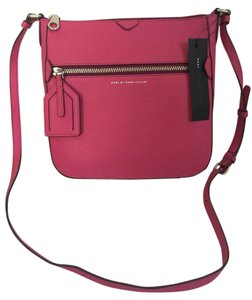 Marc by Marc Jacobs Leather Zip Pocket Cross Body Bag