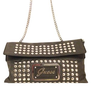 Guess Studded Chain Rocker Cross Body Bag