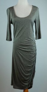 Banana Republic Ruched Heathered Dress