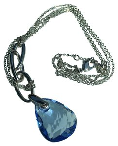 Swarovski Swarovski blue pendant necklace