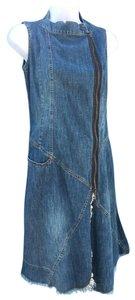 Plein Sud short dress Blue on Tradesy