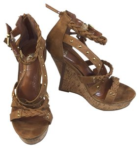 Shiekh Informal Beach Summer Evening Brown Wedges
