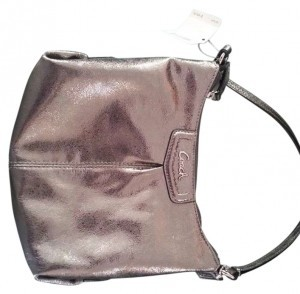 Coach Metallic Purse Cross Body Bag