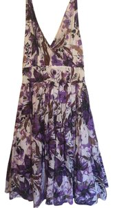 Aryeh short dress White, Purple 50's Day on Tradesy