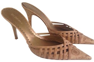 BCBGeneration Tan Mules