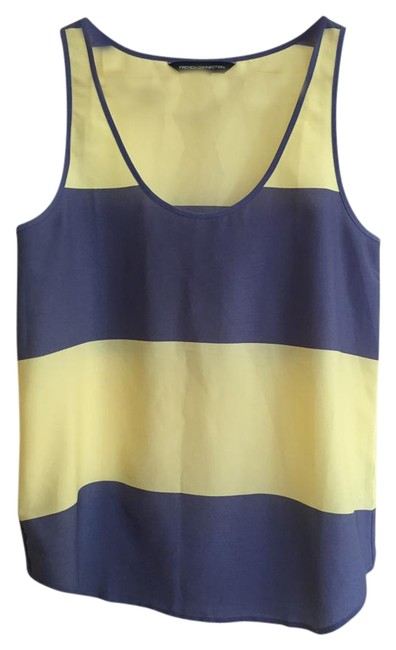 Preload https://img-static.tradesy.com/item/18247825/french-connection-blue-and-yellow-wide-stripes-tank-topcami-size-2-xs-0-1-650-650.jpg