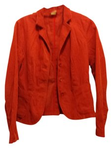 J.Crew Fall Casual Red Orange Blazer
