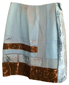 Christian Lacroix Mini Skirt Muliticolor blue