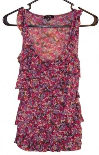 Preload https://item1.tradesy.com/images/express-purple-floral-ruffle-tank-topcami-size-2-xs-18250-0-0.jpg?width=400&height=650