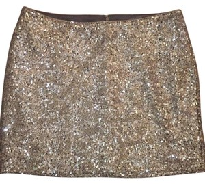 Jay Godfrey Mini Skirt Copper