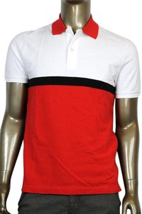 Gucci 354346 Polo T Shirt White/Red