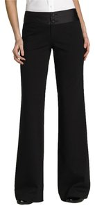 Nanette Lepore Women Clothing Nwt New Size 2 Small Xs Size 4 Rayon Tuxedo Spandex Boot Cut Pants Black