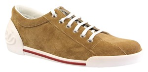 Gucci 281017 Womens Suede Tan Athletic