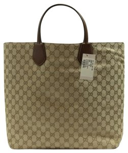 Gucci Handbag Gg Tote in Brown