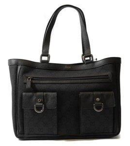 Gucci 268639 Abbey Tote in Black