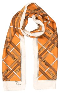 Burberry Black, gold, beige Burberry Nova check plaid print oversized scarf