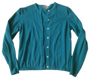 Lilly Pulitzer Cardigan Basic Blue Sweater