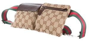 Gucci Hardware Gg Guccissima Monogram Logo Beige, Brown, Silver Messenger Bag