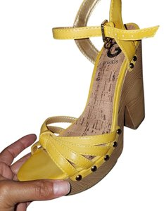 Guess Yellow Platforms