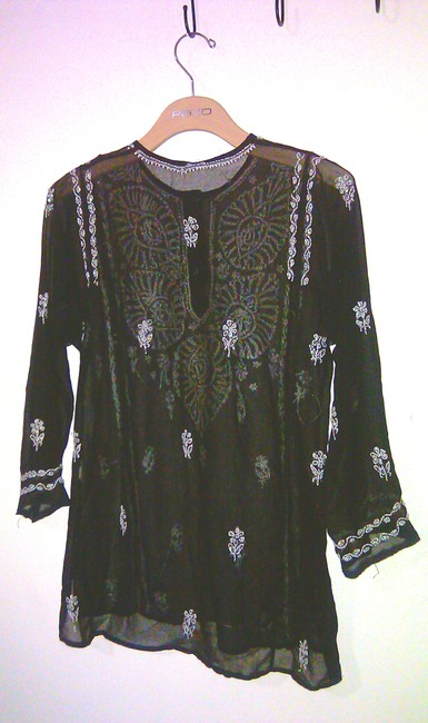 Other Embroidered Shirts India Coverup Sweater Image 1