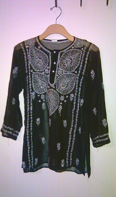 Other Embroidered Shirts India Coverup Sweater Image 2
