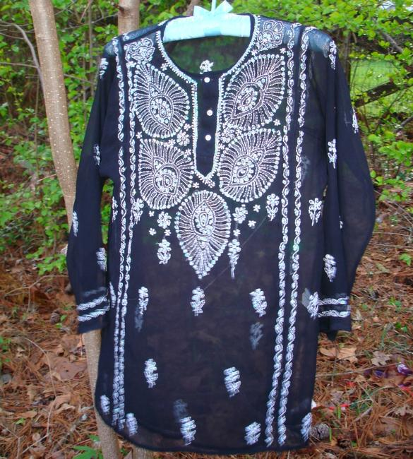 Other Embroidered Shirts India Coverup Sweater Image 4