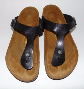Birkenstock Gizeh Thong Black Sandals