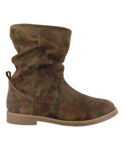 Other Coolway Aranda Floral Suede Slouch Multi-Color Boots