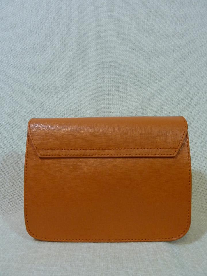 Body Leather Bag Cross Mini Julia Orange Saffiano Tangerine Furla 1qxfOF0wBn