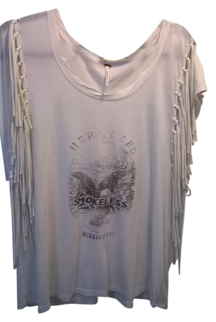 Preload https://item2.tradesy.com/images/free-people-cream-super-soft-fabric-fringe-tee-shirt-size-0-xs-1826016-0-0.jpg?width=400&height=650