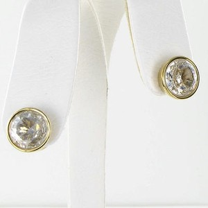 Michael Kors Michael Kors Earrings Brilliance Round Crystal Stud Gold-tone
