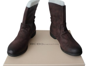 BCBG Leather Oak/Brown Boots
