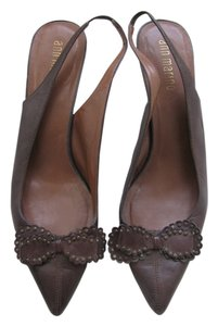 Ann Marino Brown Pumps